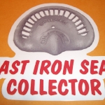 Cast Iron Seat Collector